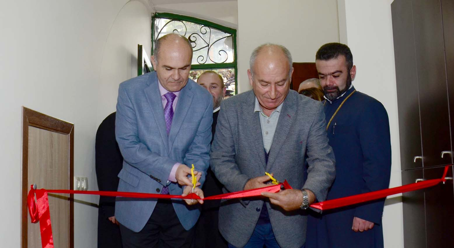 """The """"Alexander Mantashyants"""" Center in Batumi was extended"""
