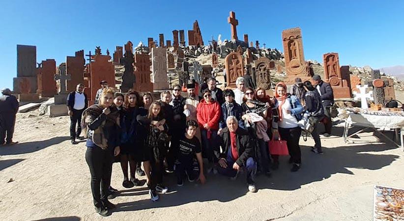 Pilgrimage of Armenian faithful from Tbilisi to St. John Chapel