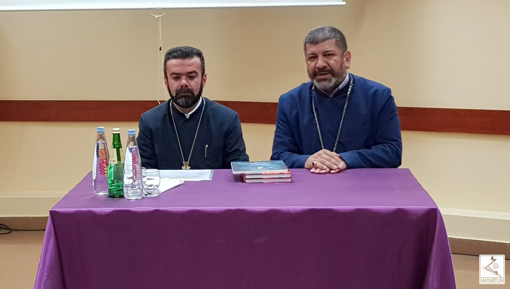 Meeting with the newly appointed Vicar of the Armenian Diocese in Georgia