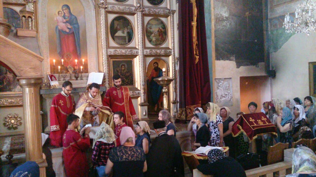The Feast of Transfiguration of Our Lord Jesus Christ celebrated in the Armenian Diocese in Georgia