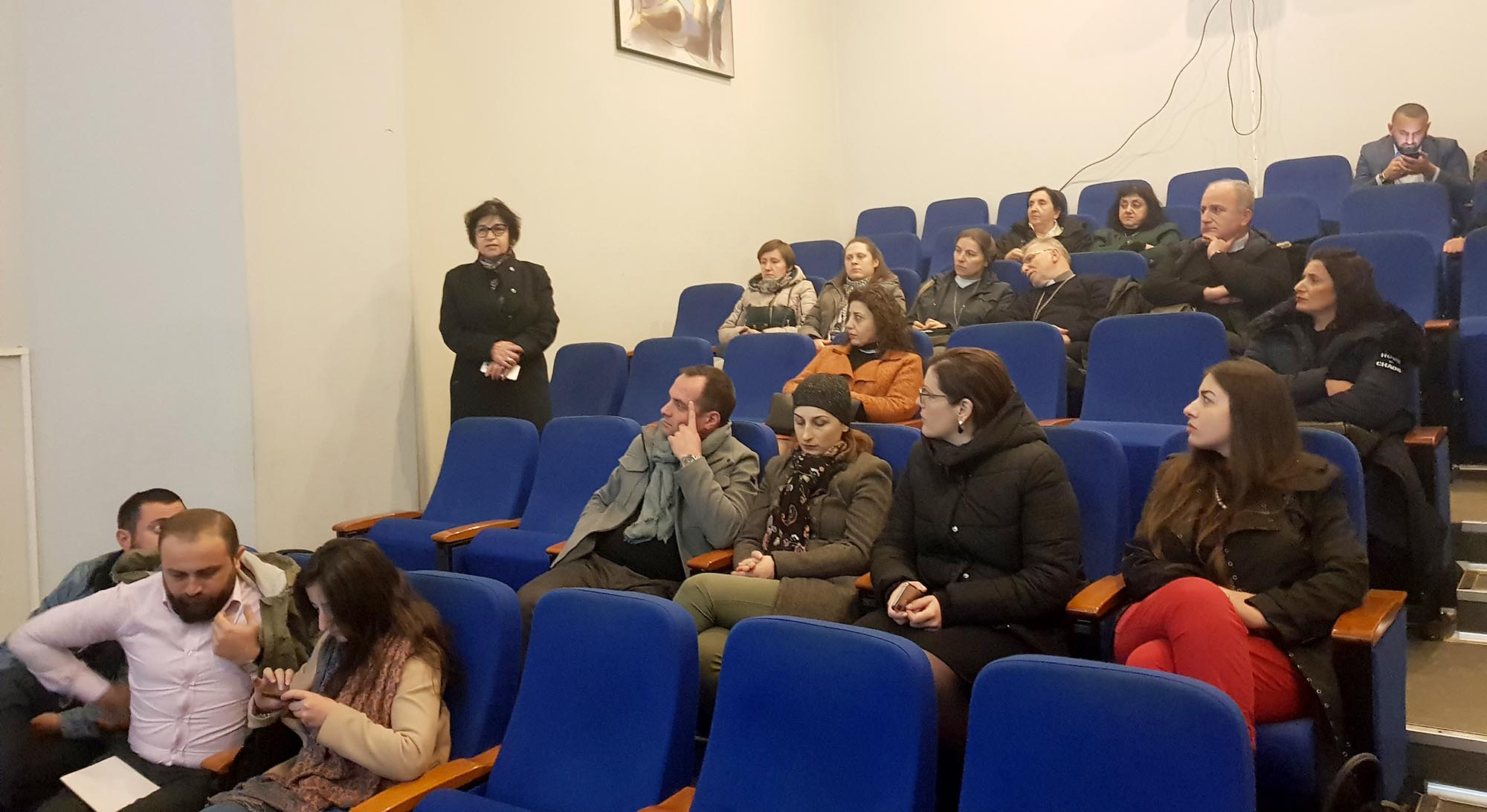 Presentation of ''The Issue of Restitution in Georgia'' film