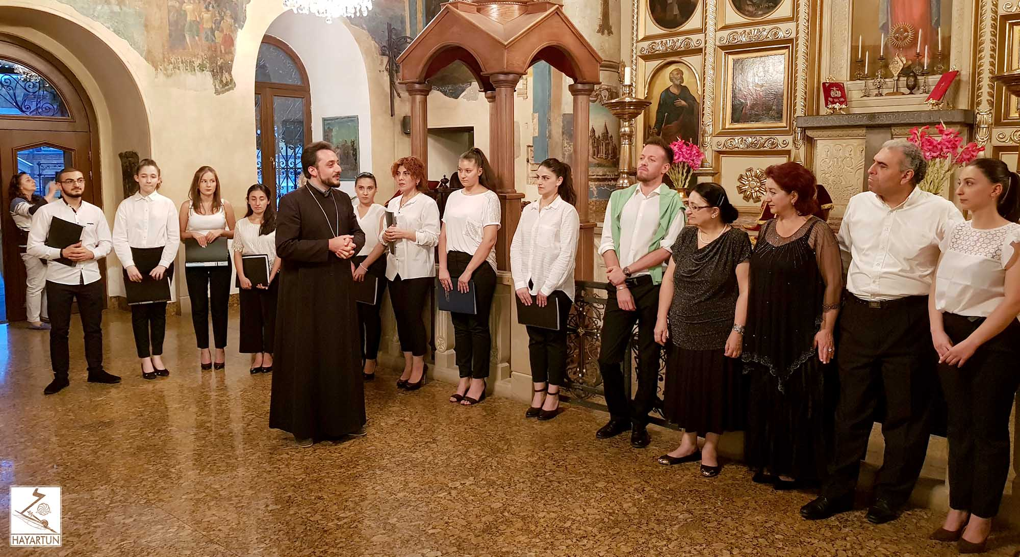 Concert of classical and spiritual music took place at the Cathedral of Saint George