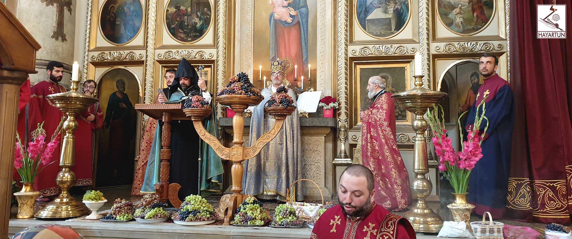 Успение Пресвятой Богородицы отметили в Епархии Армянской Апостольской Церкви в Грузии