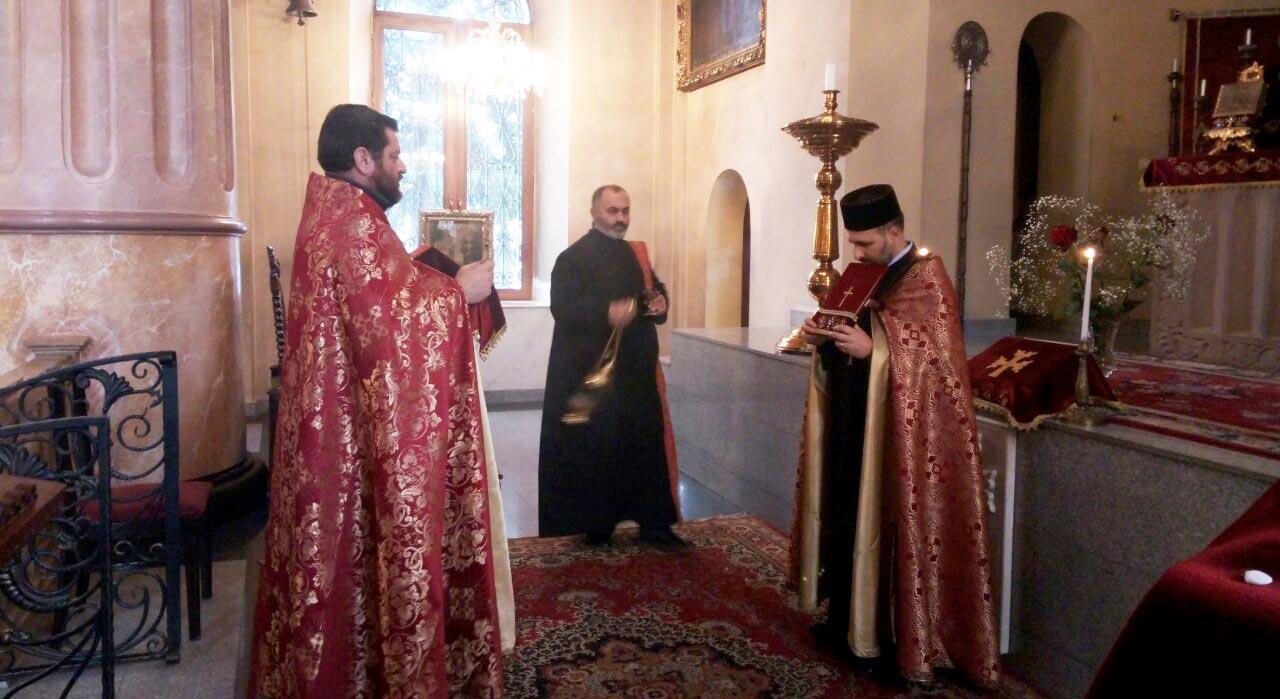 Թբիլիսիի Սբ. Էջմիածին եկեղեցում կատարվեց հոգեհանգստյան կարգ