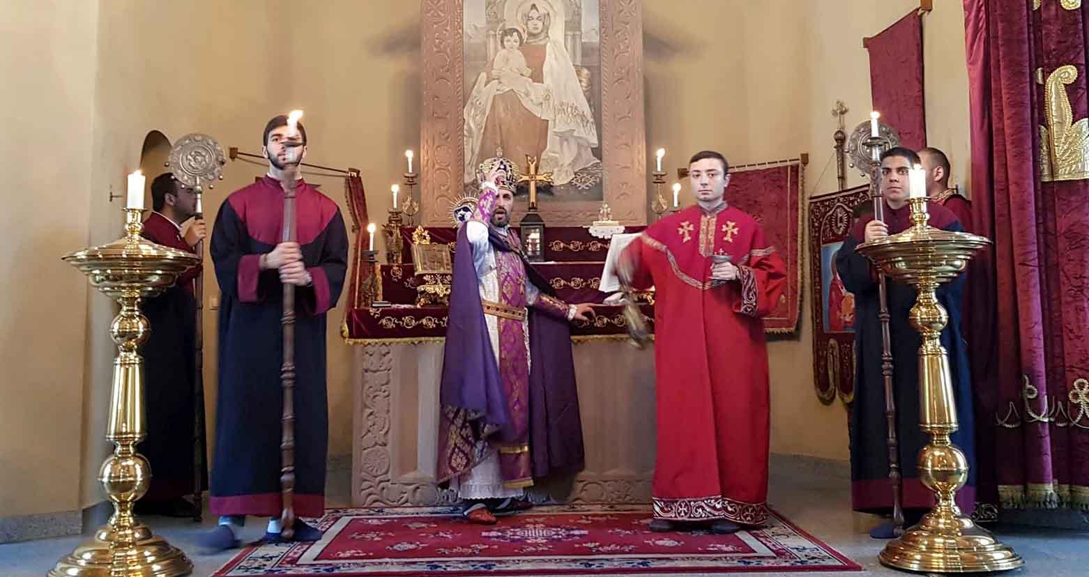 В Тбилиси отметили праздник Катохике Св. Эчмиадзина