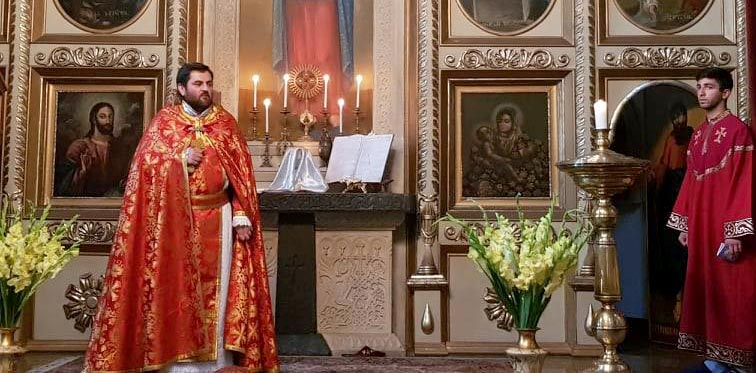 Divine Liturgy dedicated to the Feast of Discovery of the Relics of St. Gregory the Illuminator was celebrated at Cathedral of St. George in Tbilisi