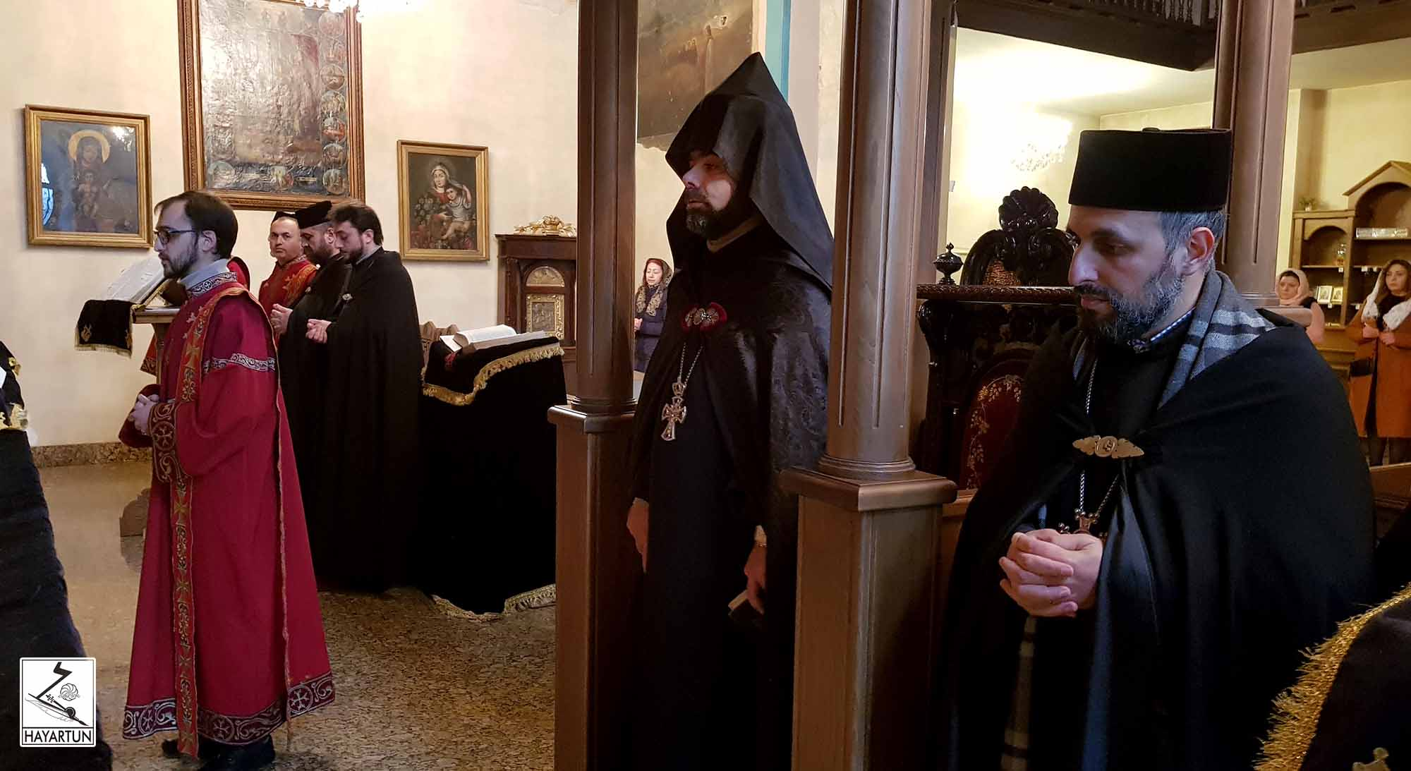 National prayer and Clergy meeting at the Armenian Diocese in Georgia