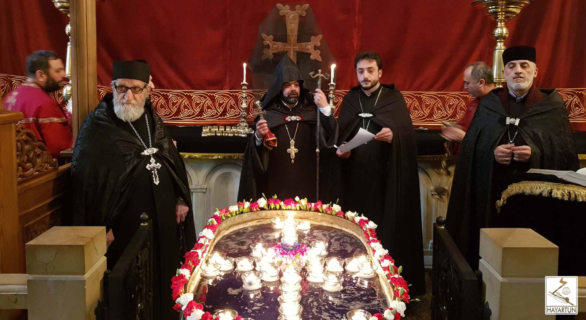 The Commemoration of the Forty Holy Martyrs was celebrated at the Armenian Diocese in George