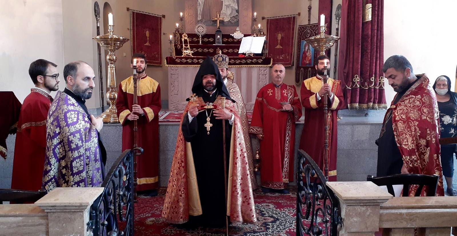 თბილისში ამაღლების დღესასწაული აღინიშნა