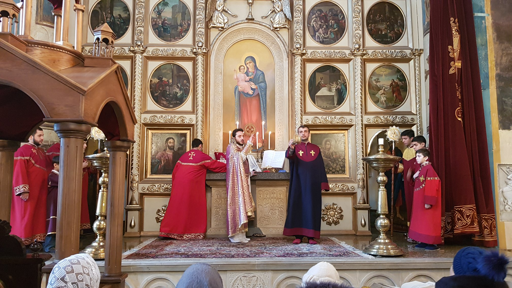 Feast of St. Sarkis was celebrated with Divine Liturgies