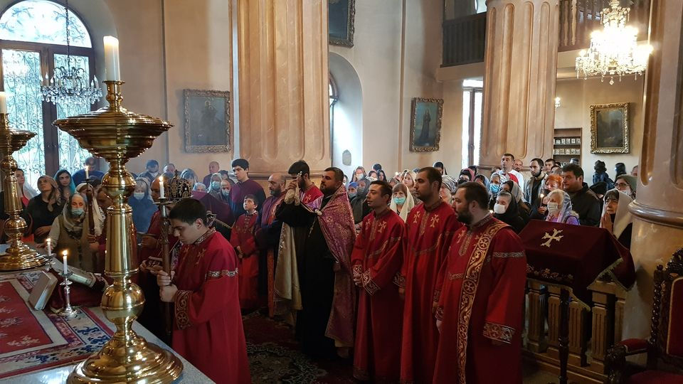 Requiem Service in Armenian churches of the Armenian Diocese in Georgia