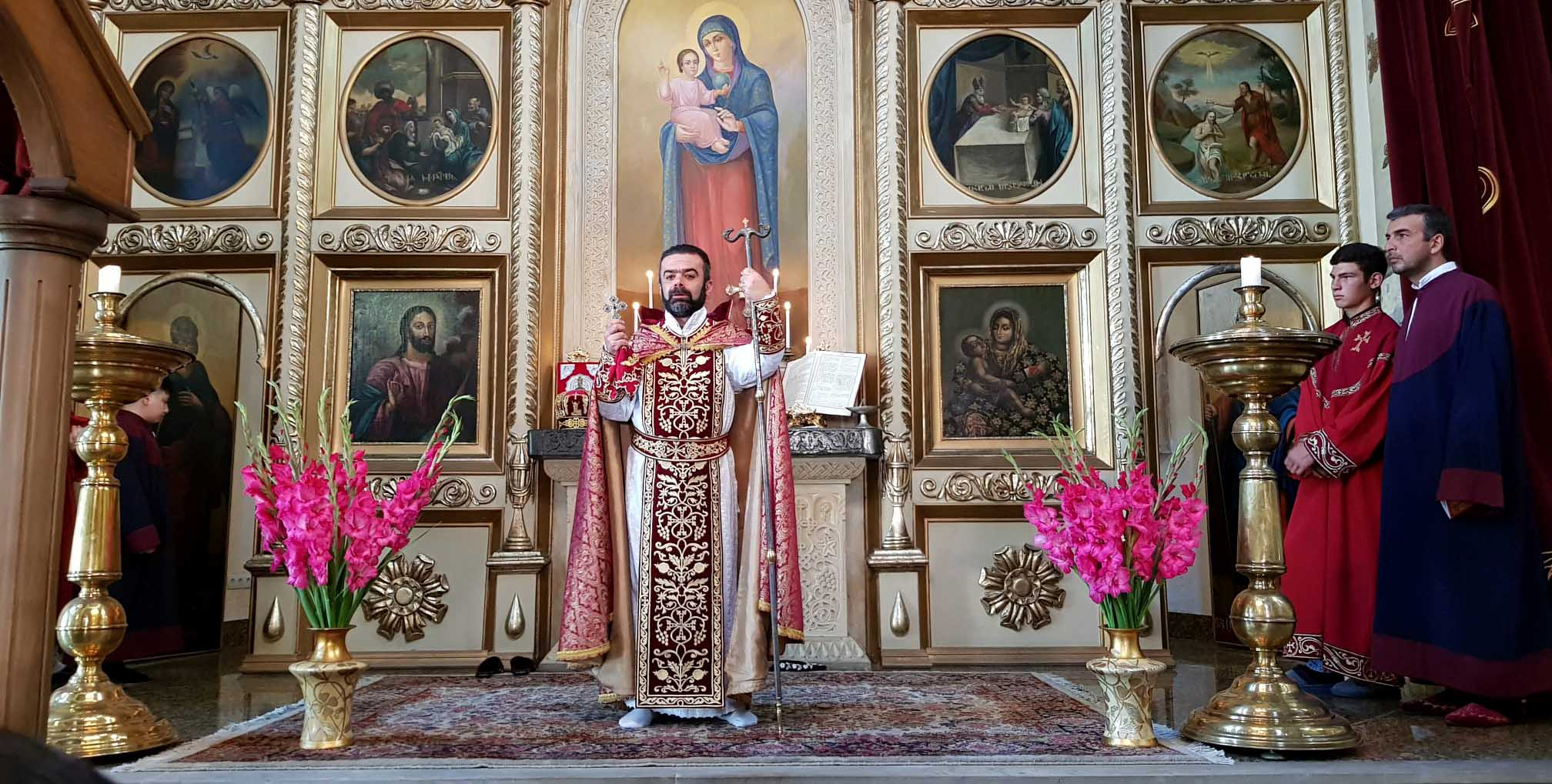 Feast of the Exaltation of the Holy Cross celebrated at the Armenian Diocese in Georgia