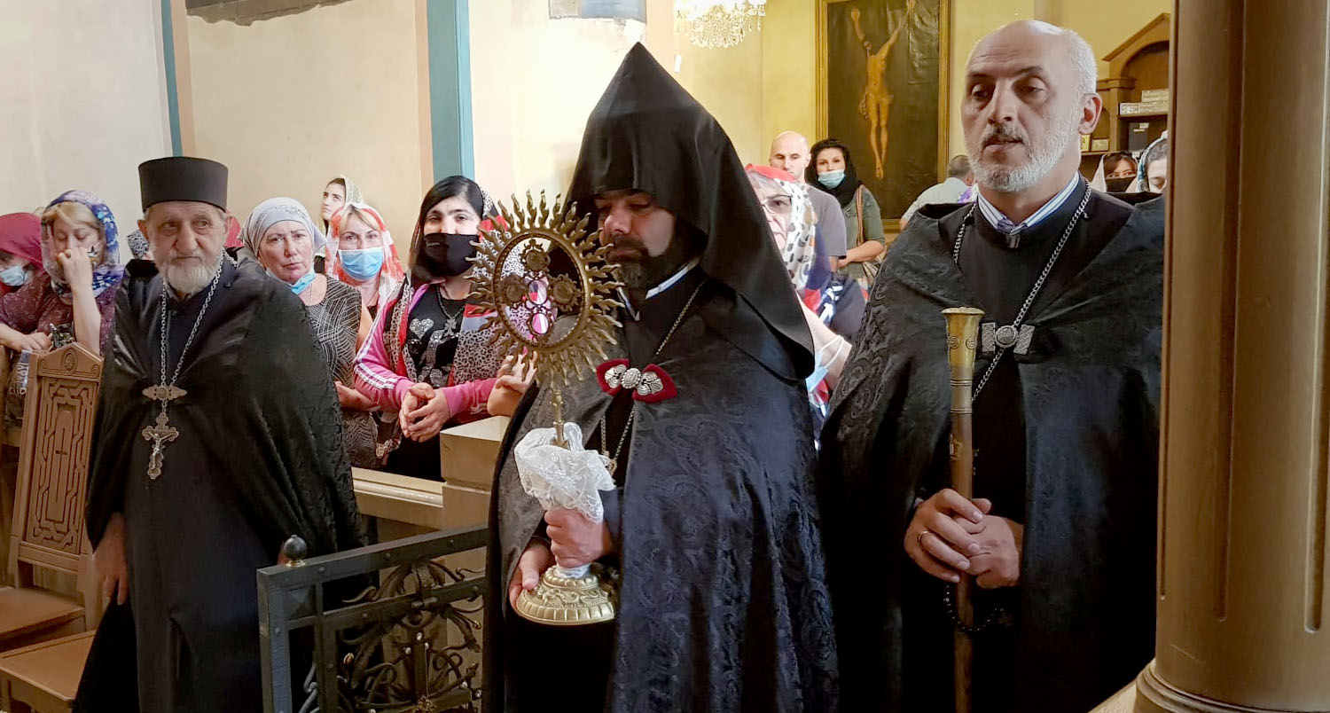 Feast of St. Gevork the Warrior celebrated at the Cathedral of St. George