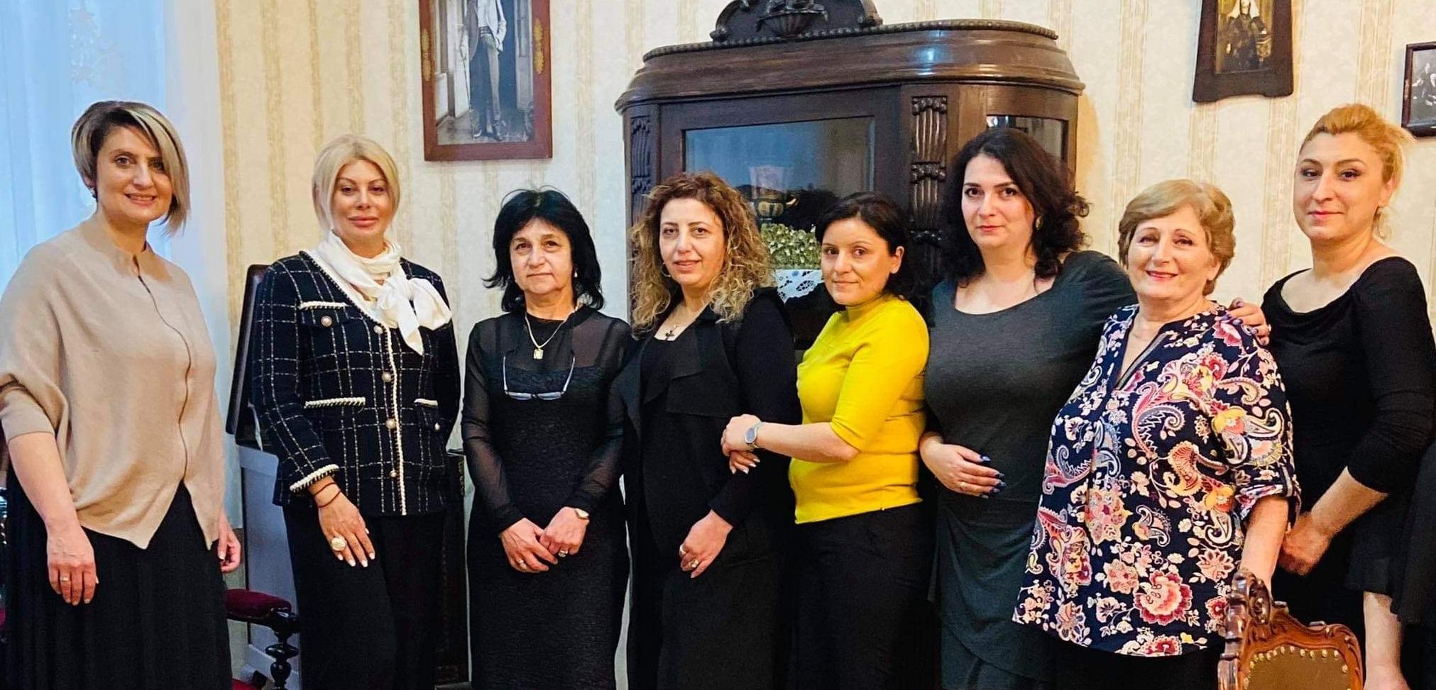 Armenian church-loving women celebrated the Motherhood and Beauty Day