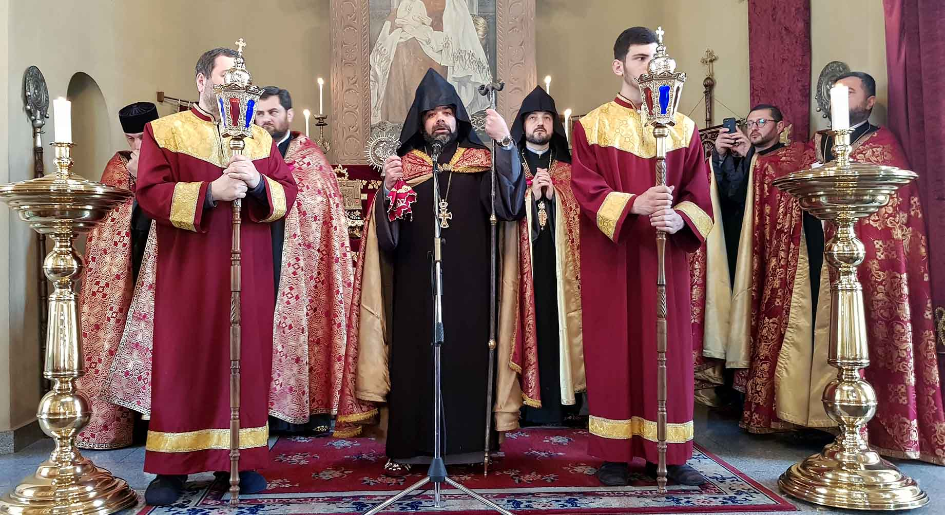 Intercessional Rite dedicated to Armenian Genocide was offered at Saint Etchmiadzin church in Tbilisi