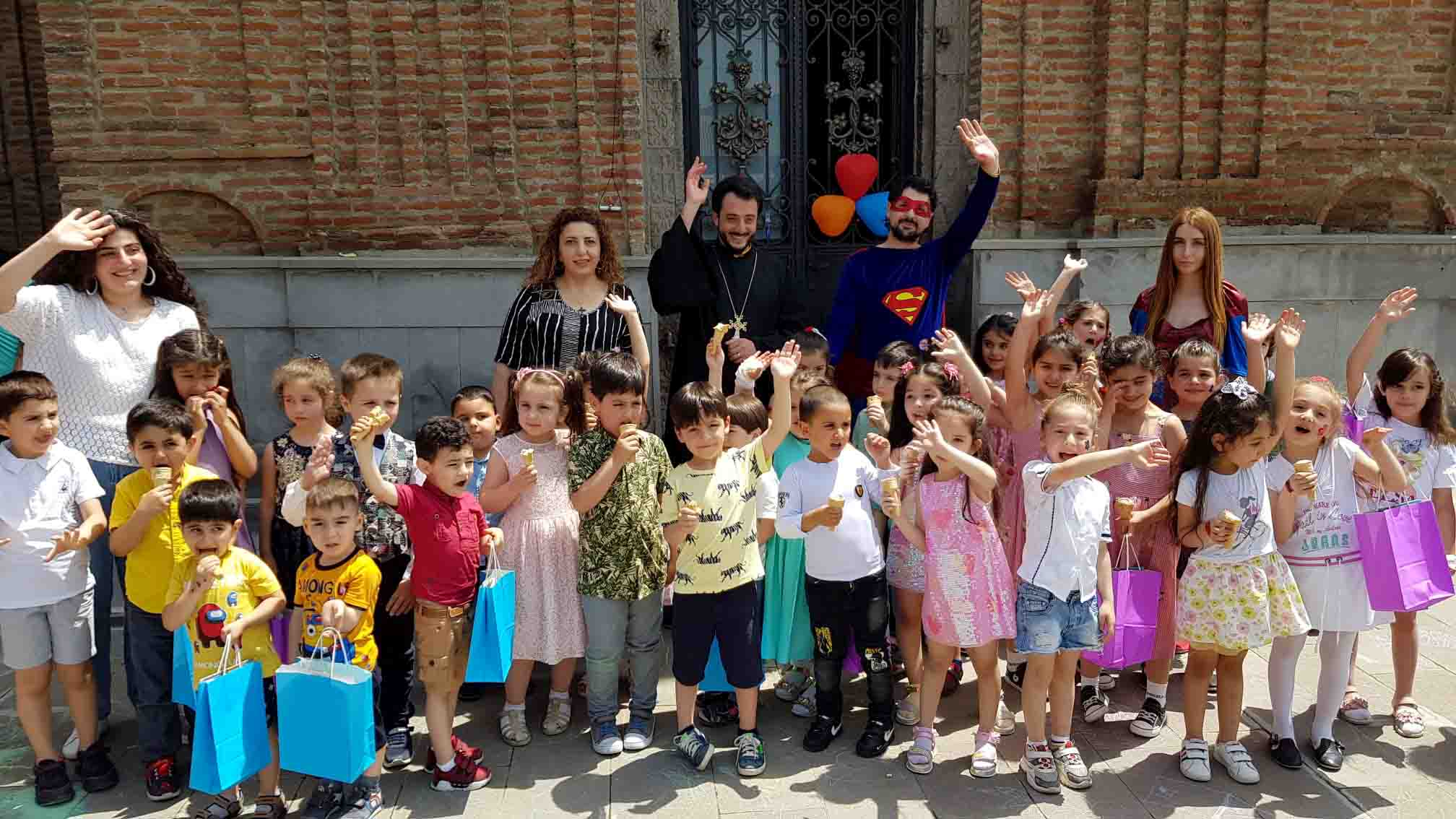 International Children's Day at the preschools of Armenian Diocese in Georgia