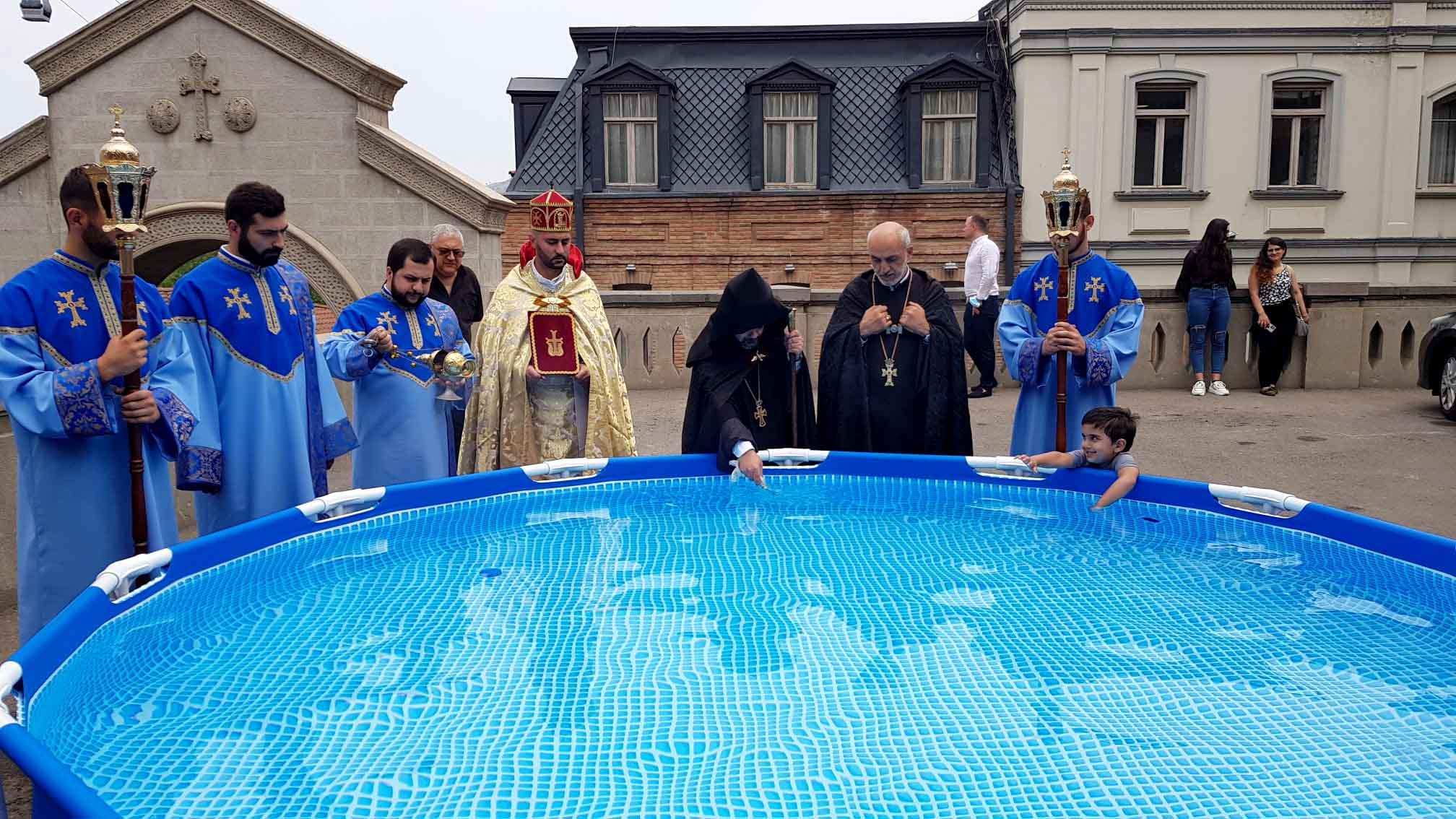 Праздник Преображения Господня в епархии ААЦ в Грузии