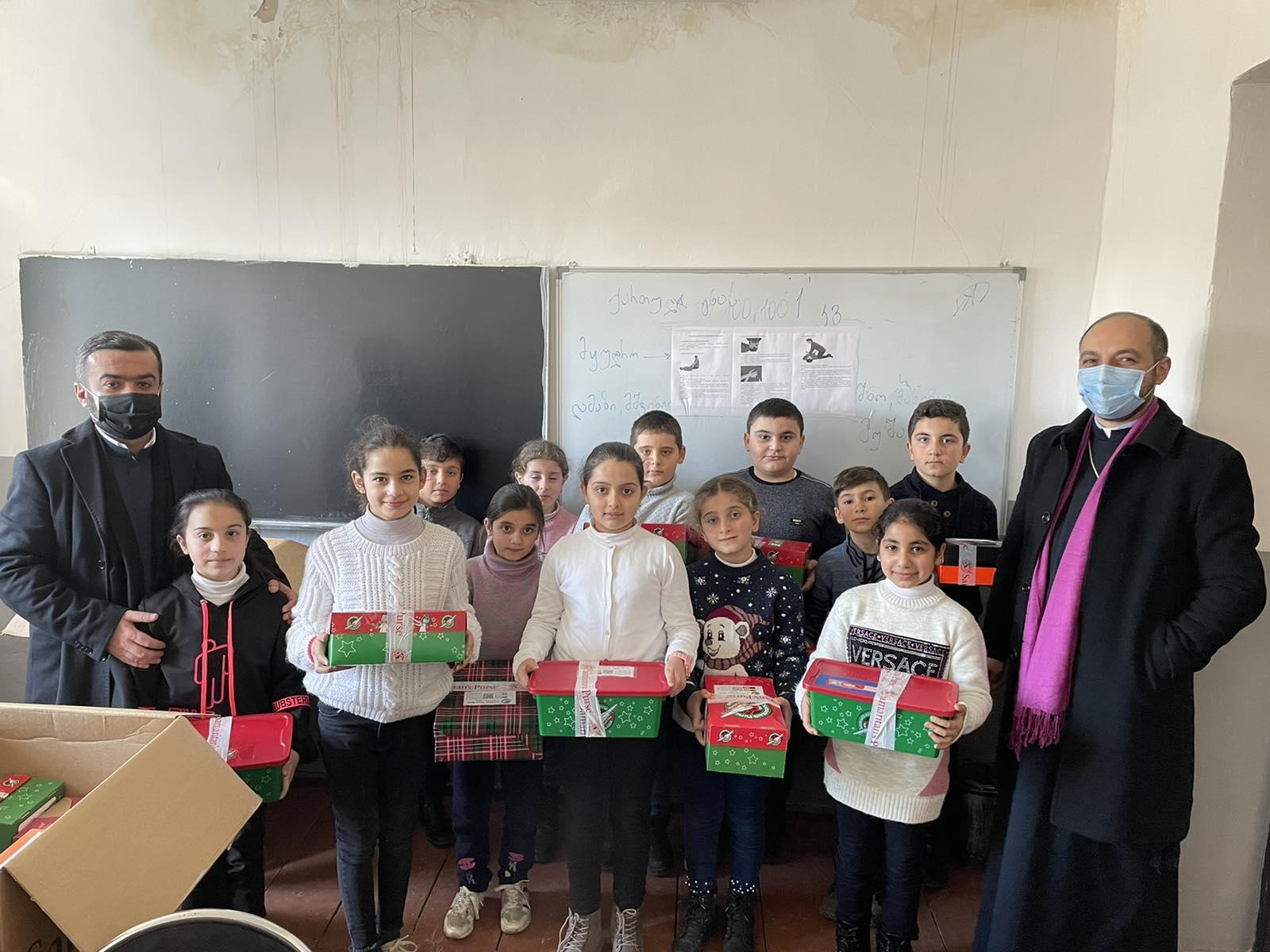 Gifts by ''Samaritan's Purse'' Christian humanitarian organization for children