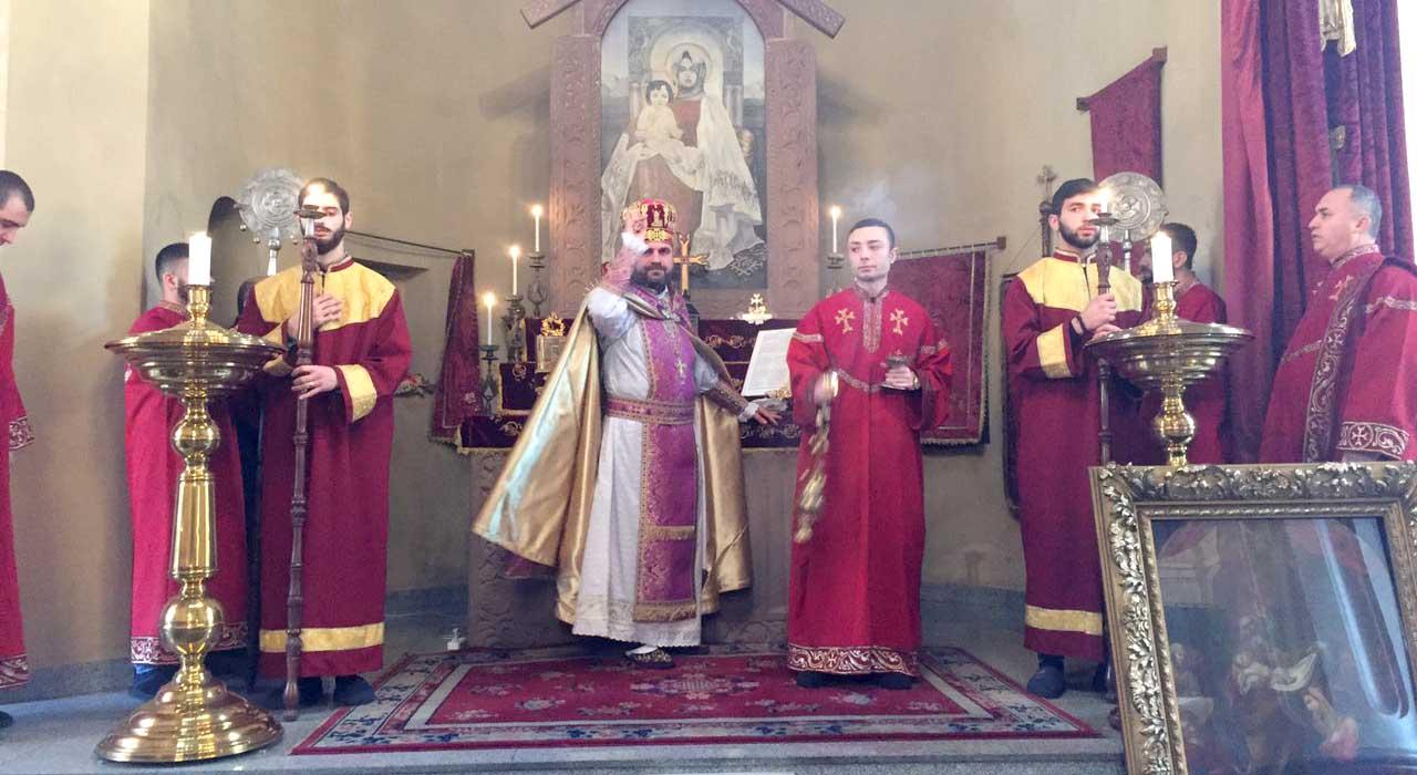 Great Lent (Great Barekendan) was celebrate with Harisa Festival in Tbilisi