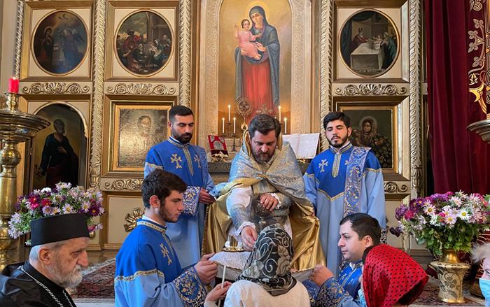 Վիրահայոց թեմի առաջնորդանիստ եկեղեցում նշվեց Սուրբ Գևորգ զորավարի տոնը